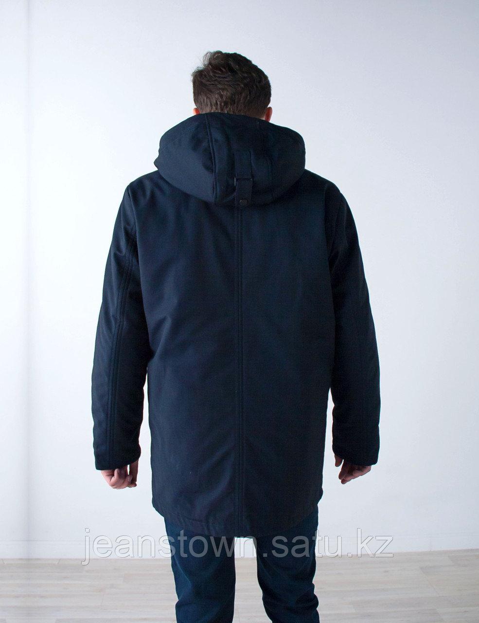 Куртка мужская зимняя City Class длинная,на подстежке - фото 5