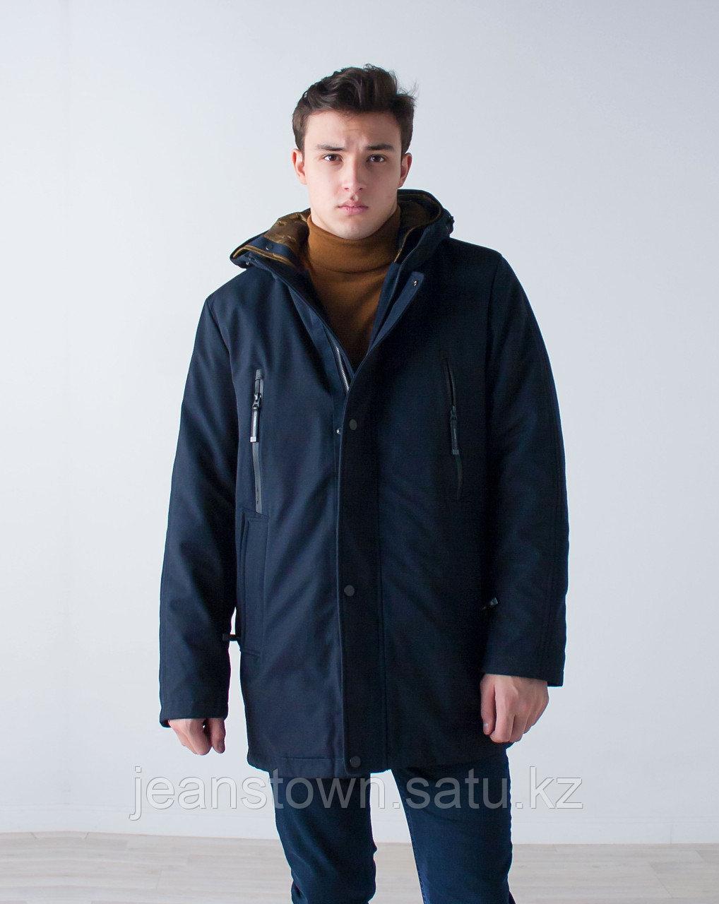 Куртка мужская зимняя City Class длинная,на подстежке - фото 1
