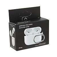 Чехол Hang Silicone Case White для Airpods Pro