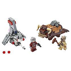 Lego Игрушка Звездные войны Микрофайтеры: Скайхоппер T-16 против Банты