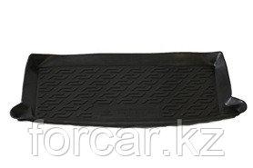 Коврик в багажник Chevrolet Aveo hatchback (08-12) (полимерный) , фото 2