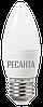 Лампа светодиодная РЕСАНТА LL-R-C37-6W-230-3K-E27