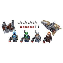 Lego Игрушка Звездные войны Боевой набор: мандалорцы