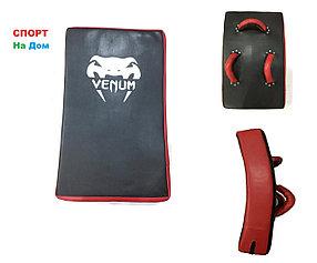 Макивара для отработки ударов ногами Venum кожа (красно-черный)