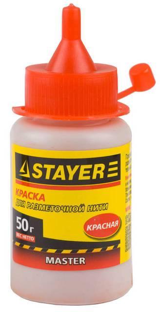 """Краска """"Stayer"""" 50 гр. красная"""