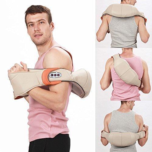 Роликовый Массажер для шеи и спины