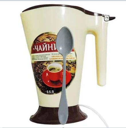 Чайник 0.5 литра с ложкой