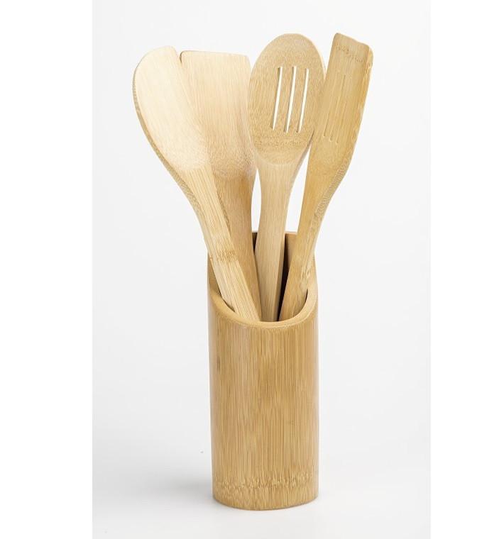 Бамбуковые Лопатки на Подставке