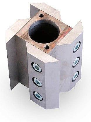 Ротор режущий с вращающимися и фиксированными ножами, не хромированная инструментальная сталь, Fritsch, фото 2