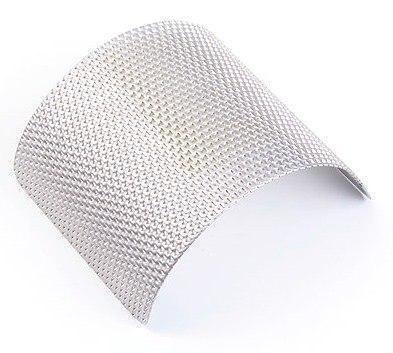 Сито из нерж. стали с трапецеидальными отверстиями 0,75 мм, Fritsch, фото 2