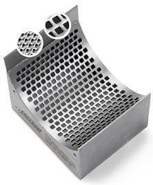Сито из нержавеющей стали с квадратными отверстиями 4 мм, Fritsch, фото 2