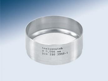 Сито лабораторное Haver & Boecker с тканым полотном из нерж. стали, d 76,2 мм, h 22 мм, размер ячейки 1,00 мм