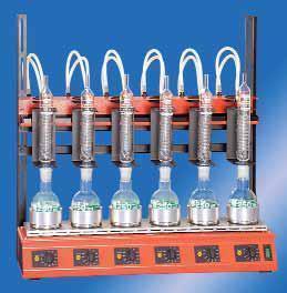 Серийный нагревающий элемент Behr для дистилляции с обратным холодильником, фото 2