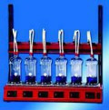 Система Behr behrotest для кислотного гидролиза проб Hydro 1 Hydro 6, Hydro 4
