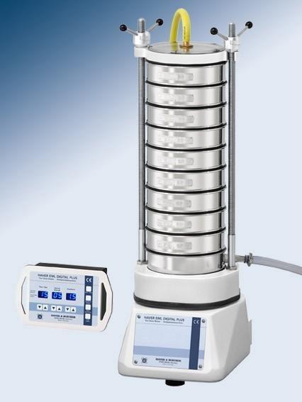 Просеивающая машина Haver & Boecker EML 200 digital plus N с прижимной системой TwinNut