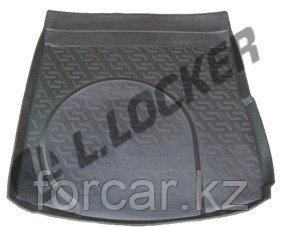 Коврик в багажник Audi A6 sedan (04-) (полимерный) L.Locker