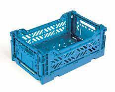 Складной ящик MINI, полипропилен, штабелируемый