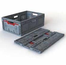 Складой ящик MAXI, полипропилен, штабелируемая, с замком