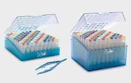 Коробки для хранения микропробирок ISOLAB