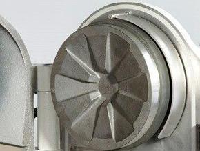 Диск измельчающий неподвижный, d=200 мм, марганцевая сталь (Fritsch)