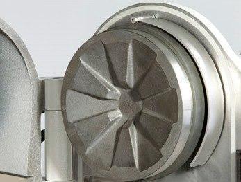 Диск измельчающий подвижный, d=200 мм, марганцевая сталь (Fritsch), фото 2