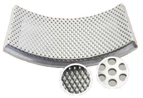 Нижнее сито из нержавеющей стали, отверстие круглое 4 мм (Fritsch), фото 2