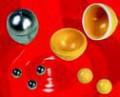 Размольные шары и размольные стаканы для Мини мельницы Fritsch PULVERISETTE 23