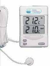 Внутренний/наружный термометр (Макс/Мин)