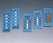 Одноразовые 5-точечные полоски для измерения температуры Thermax®