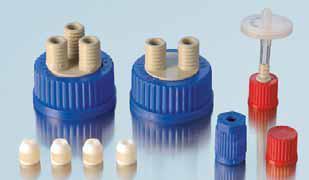 Гибкие системы подсоединений к бутылкам DURAN® с резьбой GL45