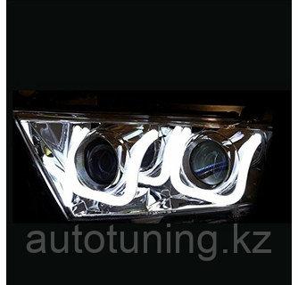 Альтернативная оптика (тюнинг фары) на Toyota Highlander XU45 2011-2013 г.в.
