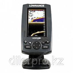 Эхолот Lowrance Hook-4x Mid/High/DownScan™