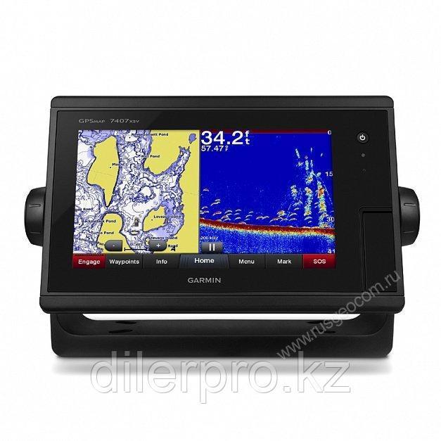 "Картплоттер с эхолотом Garmin GPSMAP 7407xsv 7"" J1939 Touch screen"