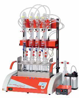 Инфракрасная система Behr для разложения и разделения цианида с температрным контролем