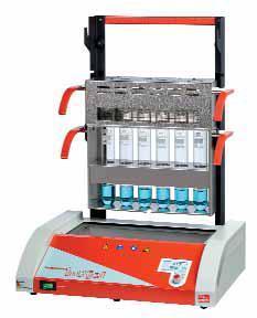Инфракрасная система для быстрого разложения с контролем температуры Behr