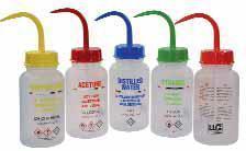 Безопасные бутылки для промывки, ПЭНП