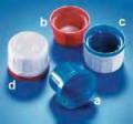 Крышки Kautex для бутылок с узкой горловиной для реактивов. Полипропилен