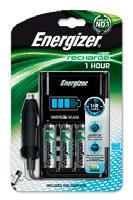Зарядное устройство 1 час. Energizer
