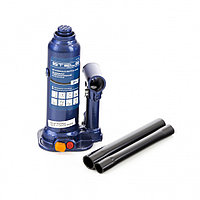 Домкрат гидравлический бутылочный, 2 т, h подъема 178-338 мм, в пластиковом кейсе Stels