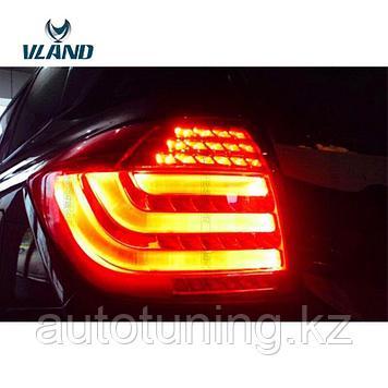 Светодиодные фонари (тюнинг фонари) на Тойота Хайлендер ( Toyota Highlaner XU45) 2010-2013 рестайлинг
