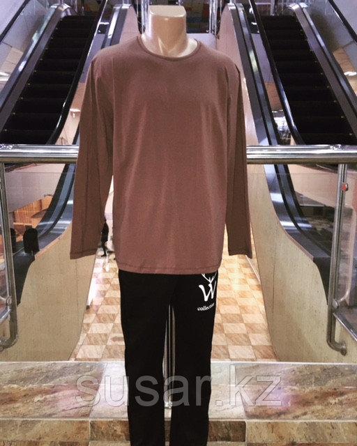 Мужская футболка с длинными рукавами ХХХL