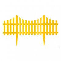 "Забор декоративный ""Гибкий"", 24 x 300 см желтый Palisad"