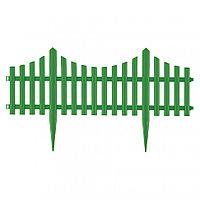 "Забор декоративный ""Гибкий"", 24 x 300 см зеленый Palisad"