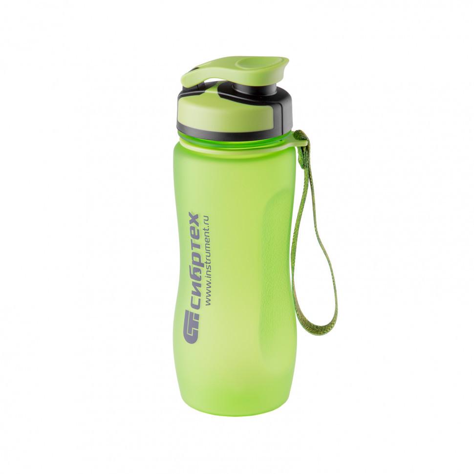 Бутылка спортивная 600 мл Сибртех