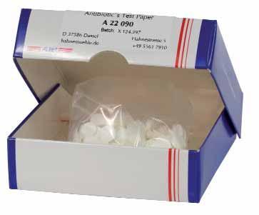 Тест-полоски с антибиотиком Hahnemuhle