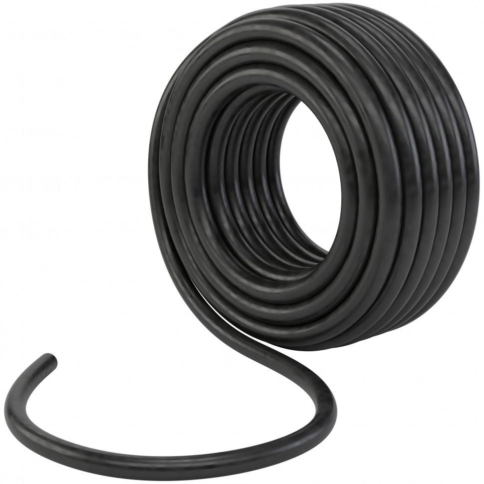 Шланг поливочный резиновый, кордовый рукав,  D 18 мм, 50 м Россия