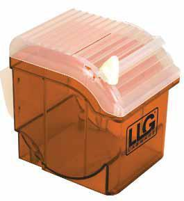 Диспенсер для PARAFILM® M, оранжевый, ABS, фото 2