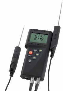 Точные портативные приборы Dostmann electronic серии Р700