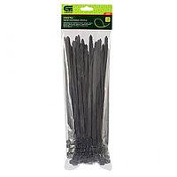 Хомуты, 250 х 8 мм, пластиковые, черные, 100 шт Сибртех