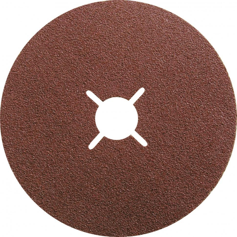 Круги фибровые 5 шт, Р 40, 180 х 22 mm Matrix
